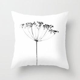 heracleum Throw Pillow