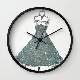 Sea dress Wall Clock