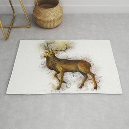 Deer Art Rug