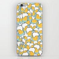 beer iPhone & iPod Skins featuring Beer! by Chris Hoffmann Design