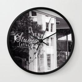 Stumptown Coffee Portland Wall Clock