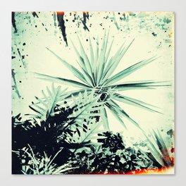 Abstract Urban Garden Canvas Print