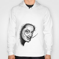 dali Hoodies featuring Dali by Robin Ewers
