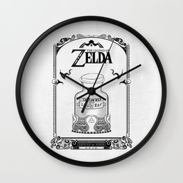 Zelda legend - Lon Lon Milk Wall Clock