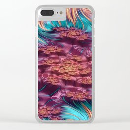 Spectroscopic Petulance 1 Clear iPhone Case
