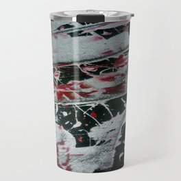 Black Pearl Abstract Travel Mug