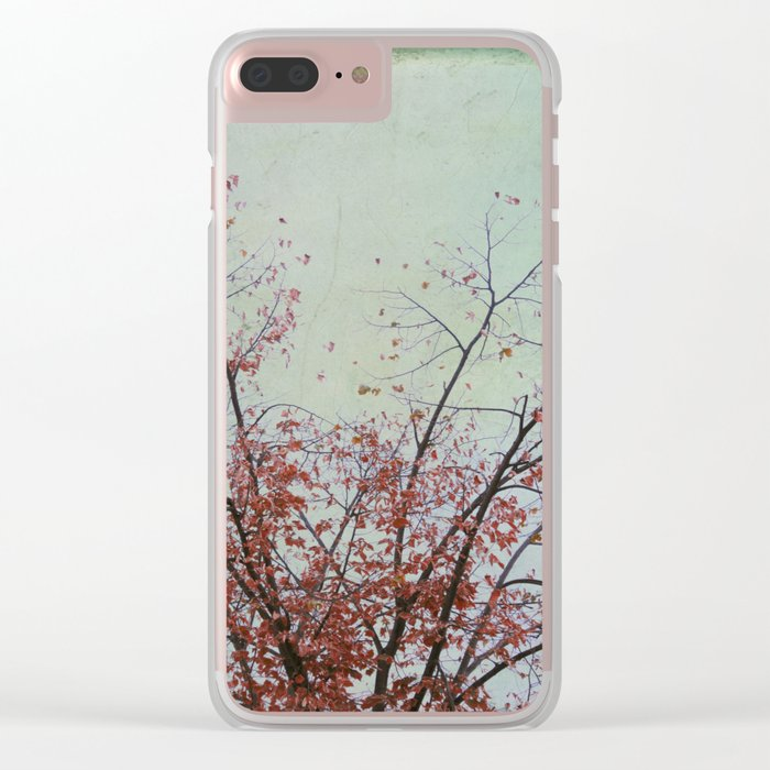Nature has arms for those who need a hug Clear iPhone Case
