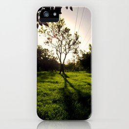 TA Sunset iPhone Case