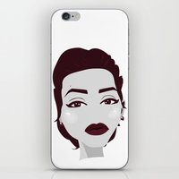 angelina jolie iPhone & iPod Skins featuring ANGELINA JOLIE by Fillipa Lara