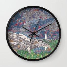Peggy's Portrait Wall Clock