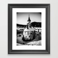 The Katholikon at Putna Monastery, Romania Framed Art Print