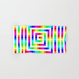 12 Color Square Spiral Hand & Bath Towel