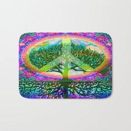 Tree of Life Peace Bath Mat