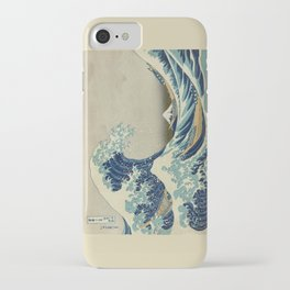 Great Wave Off Kanagawa (Kanagawa oki nami-ura or 神奈川沖浪裏) iPhone Case