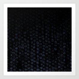 Cammo Dark Art Print