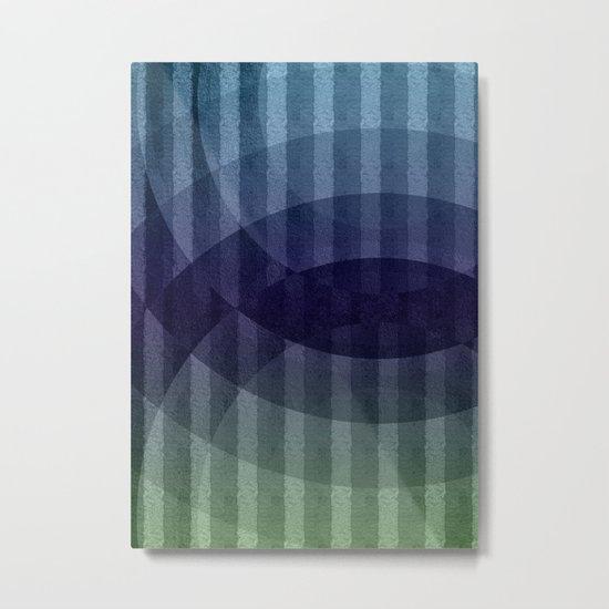 Geometric abstract BG Metal Print
