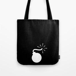 BLACK & WHITE BOMB DIGGITY Tote Bag