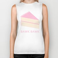 cake Biker Tanks featuring Cake by NeoQlassical