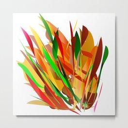 autumn abstract digital painting Metal Print