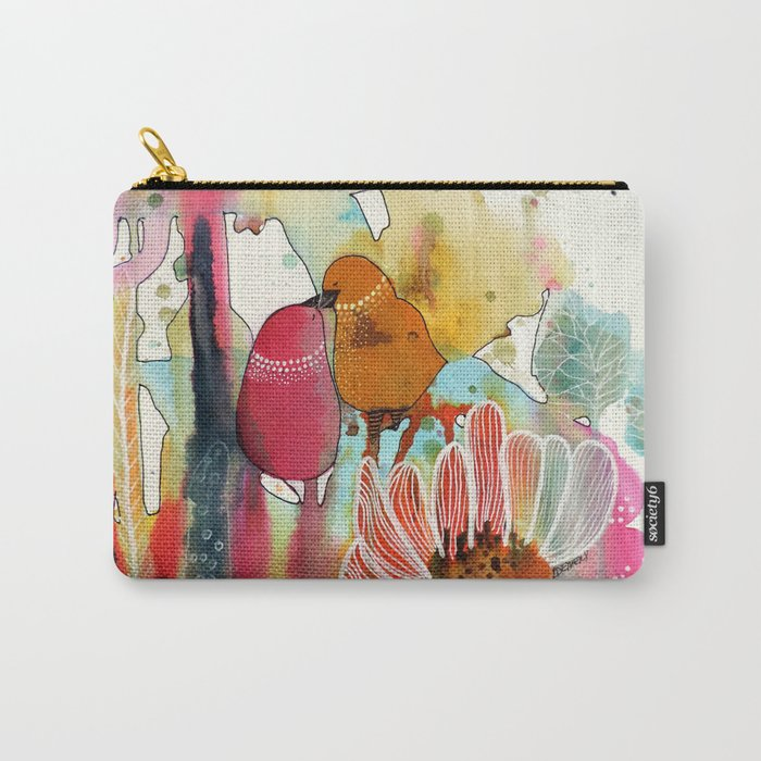 cheek to cheek Carry-All Pouch