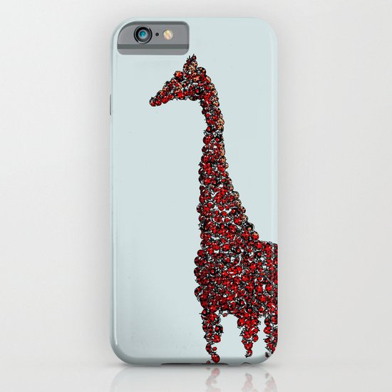 Red Giraffe iPhone & iPod Case