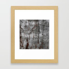 Silver Wall Framed Art Print