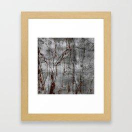 Silver Wall Framed Art Print