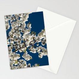 WHITE CHERRY Stationery Cards