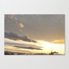 Warm Sunset Canvas Print