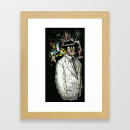 May Old Acquaintance Be Forgot - Illustration Framed Art Print