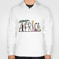africa Hoodies featuring AFRICA by Anthony Mwangi