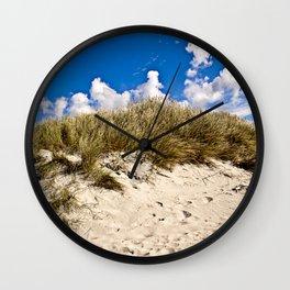 Summer Sand Dune of Denmark Wall Clock