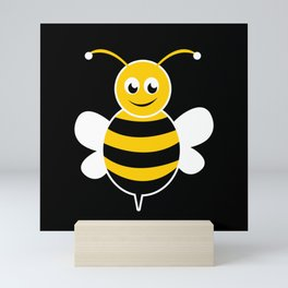 Bee Positive-a Heart For Bumblebee Mini Art Print