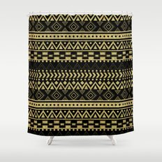 Tribal Ink Shower Curtain