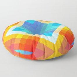 Retro Pattern 09 Floor Pillow