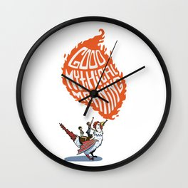 Good Mythical Morning Rhett and Link Wall Clock