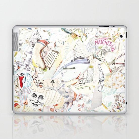 White Laptop & iPad Skin