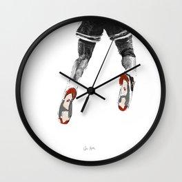 mj 1989, the shot I Wall Clock