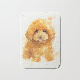 Poodle puppy Bath Mat
