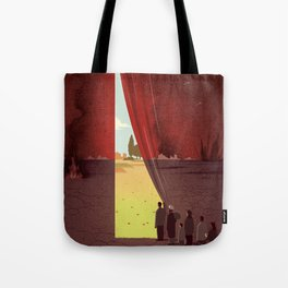 Hope Beyond the War Tote Bag