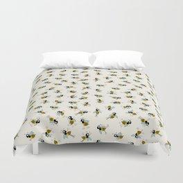 Dancing bee pyjama pattern Duvet Cover