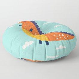 Funny Dinosaur Floor Pillow