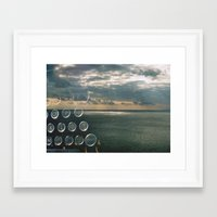 typo Framed Art Prints featuring typo by Richard PJ Lambert