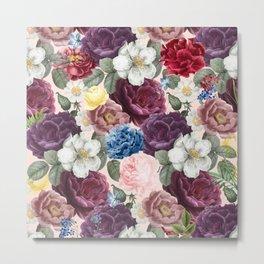 Various romantic flower bouquet Metal Print