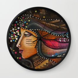 Brave Heart Wall Clock