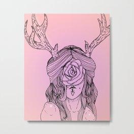 Hidden Metal Print