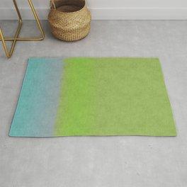 Green greenery greenish Rug
