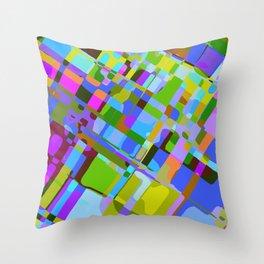 Inside the Matrix Throw Pillow