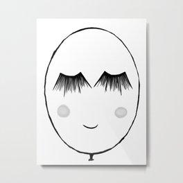 Smil Metal Print