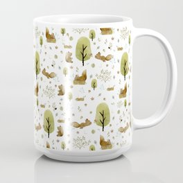 Squirrels in the forest Coffee Mug